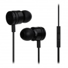 MOSIDUN M14 In-Ear Earphones w/ Previous / Next Control for Samsung / HTC / Xiaomi + More - Black