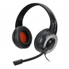 Bingle B326 Headband Music Headphone w/ Mic. / 3.5mm Jack for Cell Phone / Tablet PC - Black