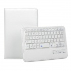 "Destacável teclado Bluetooth w / Shutter Chave + PU Case for 8.4 ""Samsung TAB S T700 / 705 - Branco"