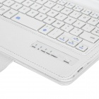"Detachable Bluetooth Keyboard w/ Shutter Key + PU Case  for 8.4"" Samsung TAB S T700 / 705 - White"