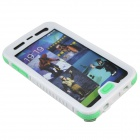 Professional Waterproof Diving Protetcive Full Body Case for Samsung Galaxy S5 - White + Transparent