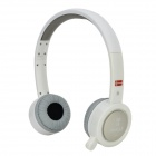 Bingle B-600 Wireless USB 2.0 Headband Headphone w/ Mic. - White