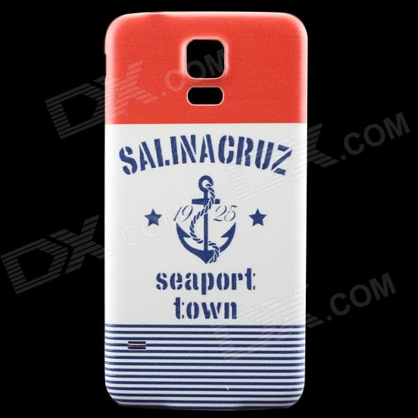 Seaport Town Back Case Frame Back for Samsung Galaxy S5