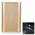 Yoobao YB-6013 7800mAh Li-Ionen-Akku Mobile Power Bank - Goldene