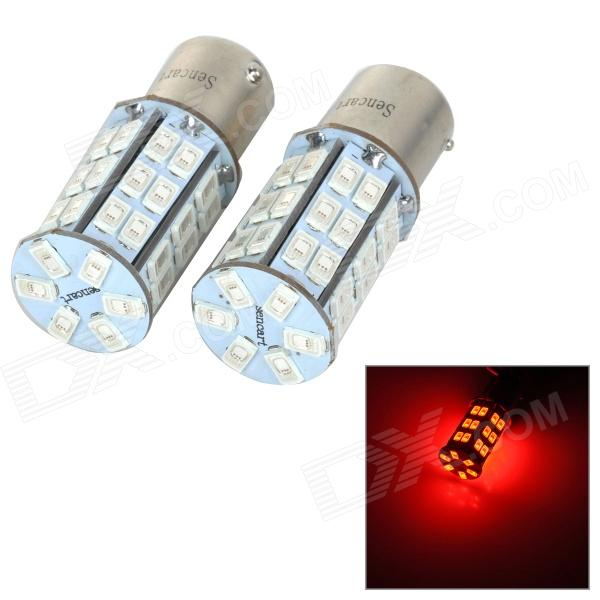 SENCART BAU15S 10W 25lm 700nm 5730 SMD LED Red Light Car Brake / Steering Lamp (2pcs / DC 12~16V)