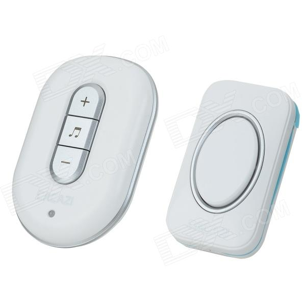 CACAZI C-9918 Water-resistant Wireless AC Digital Remote Control Home Doorbell - Silver