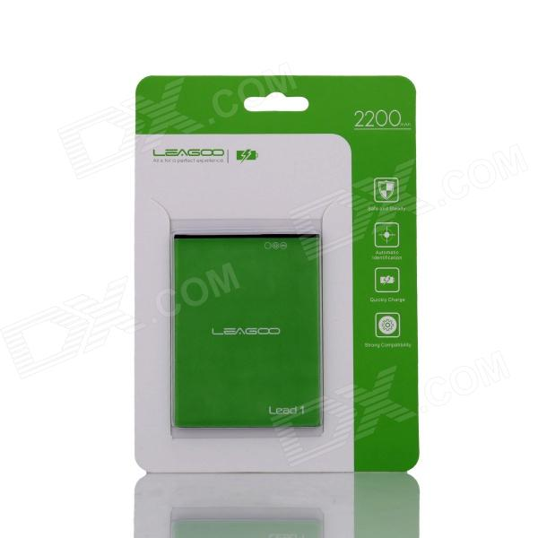 Replacement 2200mAh 3.7V Li-ion Battery for LEAGOO Lead1 - Green