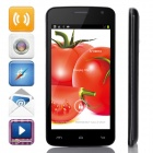 "G2  MTK6572 Dual-Core Android 4.2.2 WCDMA Bar Phone w/ 4.5"" IPS, 4GB ROM, GPS, FM - Black"