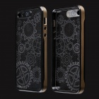 Sun Pattern LED Flash Light Protective ABS Hard Case for IPHONE 5 / 5S