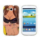 Sexy Girl Design Pattern Protective TPU Back Case Cover for Samsung Galaxy S3 i9300