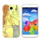 Hot Lovers Design Pattern Protective Silicone Back Case Cover for Samsung Galaxy S4 i9500