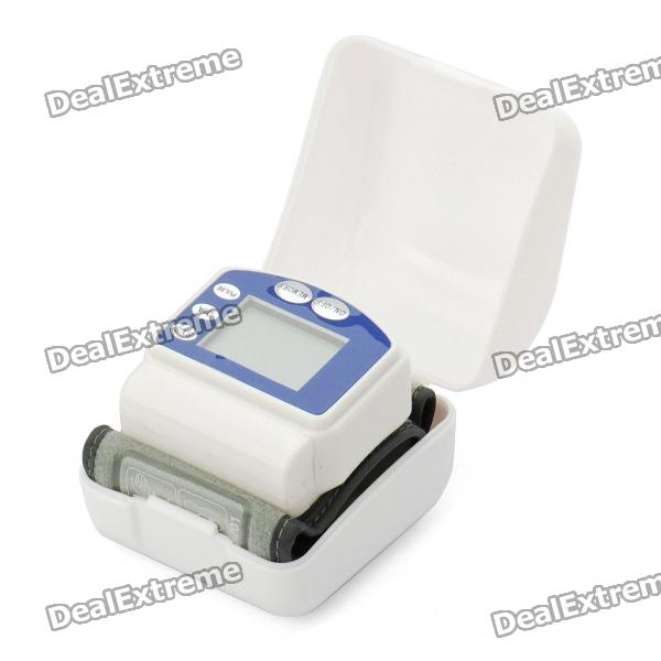 "1.5"" Fully Automatic Wrist Style Digital Blood Pressure Monitor (2*AAA)"