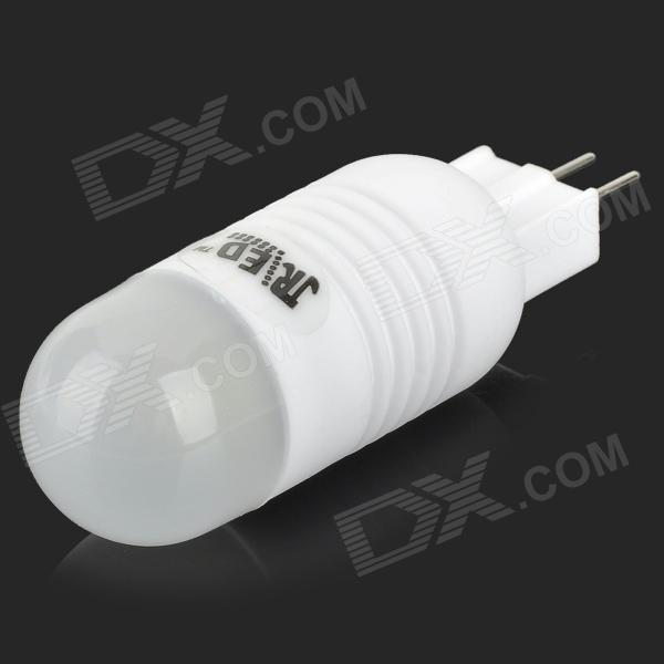 JRLED JRLED-2W-COB G4 2W 130lm 6300K COB LED White Light Ceramic Bulb - White (AC 220~240V)
