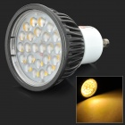 Lexing LX-DB-9 GU10 4.5W 300lm 3500K 24-SMD 2835 LED Warm White Spotlight - Black (AC 220~240V)