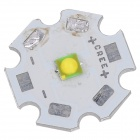 JRLED JR-LED-3535-3W 3W 230lm 7000K LED Emitter Board for Flashlight - White + Silver (DC 3~3.5V)