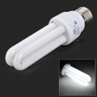 JRLED E27 11W 600lm 6000K LED White Light Energy-saving Lamp - White (AC 220V)