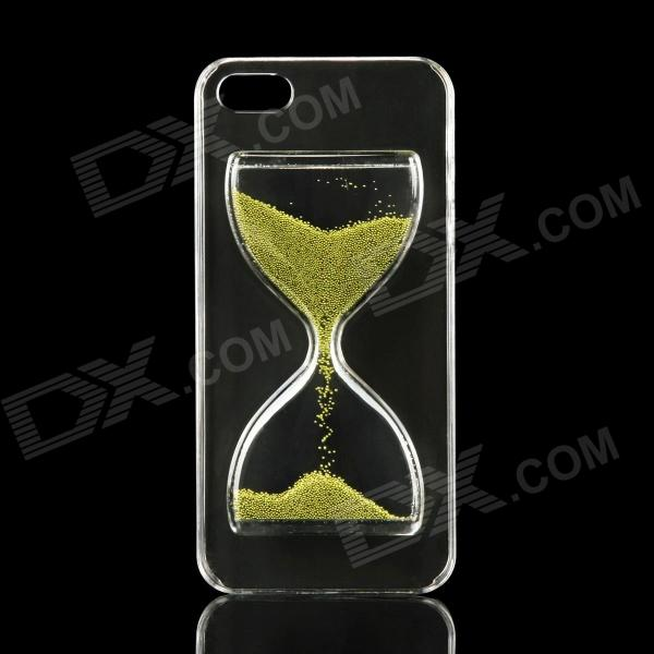 где купить  EPGATE A00479 Hourglass Style Protective PC Back Case for IPHONE 5 / 5S - Green + Transparent  дешево