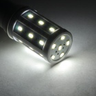 JRLED E27 5W 350LM 6500K 24 SMD 5730 LED White Light Bulb - White + Prata (AC 220 ~ 240V)