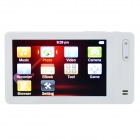 "3.0"" TFT LCD Screen HD MP5 Player w/ Camera + TF Card Slot + FM - White (8GB)"