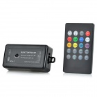 20-Key Infrared Music LED Controller - Black (1 x CR2025)