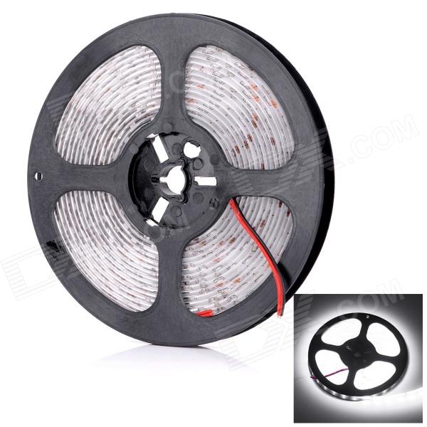 HML L14 3600lm 6500K 300-SMD 3014 LED White Light Strip - White + Yellow (DC 12V / 5M)