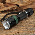 LED 120lm 3-Mode White Light Zooming Flashlight w/ Attack Head (1 x 18650)
