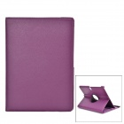 "Protective Rotatable PU Leather Full Body Case w/ Stand for 10.5"" Samsung Galaxy Tab S - Purple"