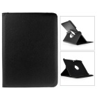 "360 Degrees Rotatable PU Leather Full Body Case w/ Stand for 10.1"" Samsung Galaxy Tab 4 - Black"