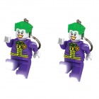 Genuine Lego DC Super Heroes-Joker Key Light IQ50874 (LGL-KE30) x 2pcs (special price)