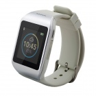 "WIME M5 Sports 1.54"" Anti-lost Touch Screen Bluetooth Smart Wrist Watch w/ SMS / Call - White"