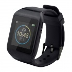 "WIME M5 Sports 1.54"" Anti-lost Touch Screen Bluetooth Smart Wrist Watch w/ SMS / Call - Black"