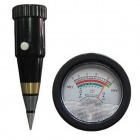 ZnDiy-BRY DS-300 High Precision Indoor / Outdoor PH / Moisture Meter Tester - Black