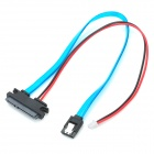 Fine Source HDD-1 PVC Hard Disk Drive Connection Cable for Banana Pi - Blue + Red + Black (34.5cm)