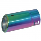 Kapeier C5 Stylish Stainless Steel Car Exhaust Pipe Muffler Tip - Multicolored