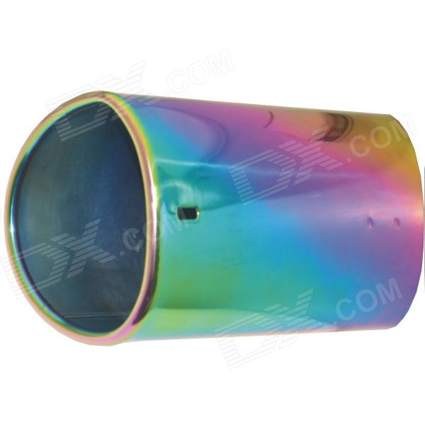 Kapeier C14 Stainless Steel Car Exhaust Pipe Muffler Tip for Audi Q5 - Multi-Colored kapeier c121 universal stainless steel car exhaust pipe muffler tip
