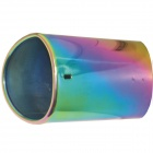 Kapeier C14 Stainless Steel Car Exhaust Pipe Muffler Tip for Audi Q5 - Multi-Colored
