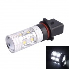 P13W 60W 550LM 6500K 12-Samsung SMD LED White Light Foglight Headlamp for Car (DC12-24V)