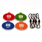 NXP Ntag216 888 Bytes NFC Tags for Cellhone - Orange+Multicolor (4PCS)