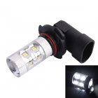 9005 / HB3 60W 550LM 6500K 12-SMD LED White Light Foglight Farol para Carro (DC12-24V)