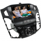 "LsqSTAR 8"" Touch Screen 1-Din Car DVD Player w/ GPS FM iPod RDS SWC Canbus 6CDC AUX for Ford Focus"
