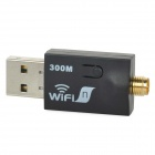 11N 300Mbps USB Wireless-N Adapter - Black