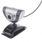 First Sight Z5 8.0MP HD Webcam w/ Night Vision Light / Mic - Black + Sliver