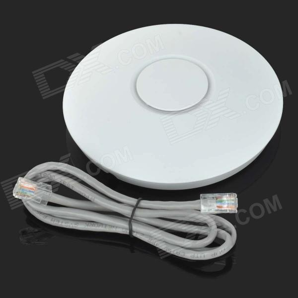 Wireless Network Ceiling Mount Access Point Type - White
