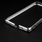 Protection aluminium Alloy Frame pare-chocs étui pour IPHONE 5 / 5 s - Silver + Orange