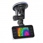 "K6000P 2.4"" TFT Screen CMOS 120' Wide-angle IR Night Vision Car DVR Loop Video Recorder - Black"