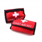 D-003 Outdoor First-Aid Kit - Red + Black