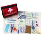 Outdoor First-Aid Kit - Red + Black