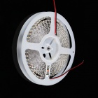 KINFIRE S-6 Dual-Row 72W 2400lm 3500K 600-SMD 3528 LED Warm White Light Strip - White (DC 12V / 5M)