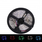 KINFIRE R50 Dual-Row 144W 5500lm 600-SMD 5050 LED RGB Light Strip - Black + White (DC 12V / 5M)