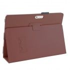 Protección PU cuero Stand caso para Microsoft Windows Surface Pro 3 12'' - Brown